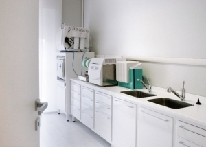 sala sterilizzazione studio odontoiatrico